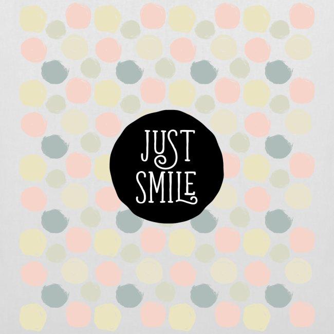 Tote Bag Just Smile