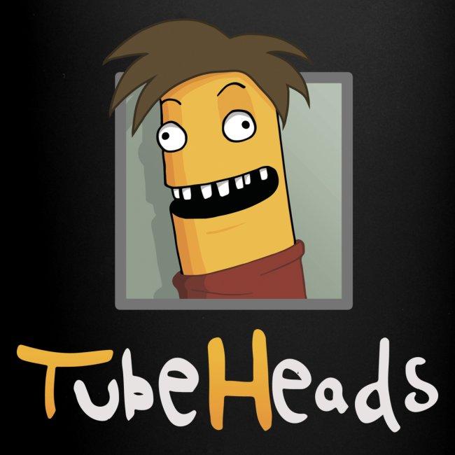 TubeHeads Logo-Tasse schwarz