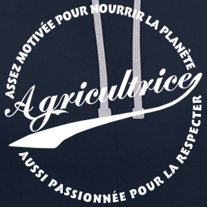 Agricultrice  - Sweat-shirt contraste
