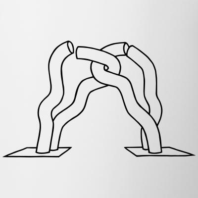 Berlin-Skulptur auf dem Tauentzien Kurfürstendamm