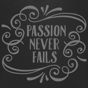 Passion Never Fails T-skjorter - T-skjorte med V-utsnitt for menn