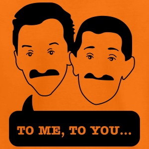 Chuckle Brothers - Kids tshirt (Movember) - Teenage Premium T-Shirt