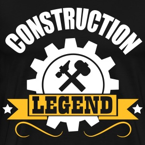 handy man: construction legend T-Shirts - Men's Premium T-Shirt