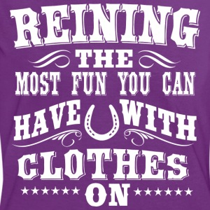 Reining - Fun T-Shirts - Women's Ringer T-Shirt