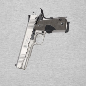 Gangster Smith & Wesson 9mm kaliber 45 vapen  T-shirts - T-shirt dam