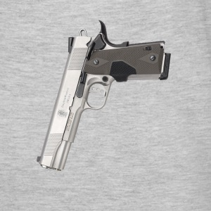 Gangster Smith & Wesson 9mm kaliber design 45 våbe T-shirts - Herre-T-shirt