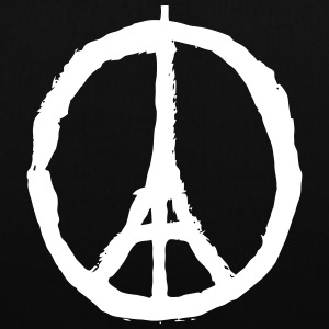 PRAY FOR PARIS - PEACE FOR PARIS Borse & zaini - Borsa di stoffa