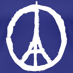 PRAY FOR PARIS - PEACE FOR PARIS Tee shirts - T-shirt Premium Femme