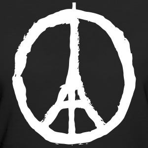 PRAY FOR PARIS - PEACE FOR PARIS Tee shirts - T-shirt Bio Femme