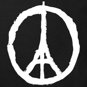 PRAY FOR PARIS - PEACE FOR PARIS Shirts - Kinderen Bio-T-shirt