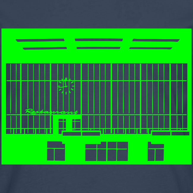 Abfertigungshalle THF (neon)