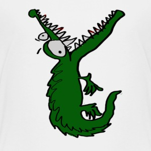 hungry crocodile Shirts - Teenage Premium T-Shirt