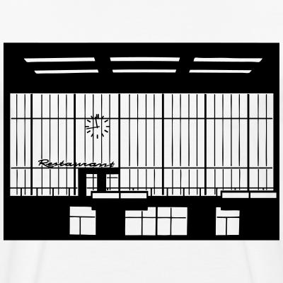 Abfertigungshalle Flughafen Tempelhof Berlin