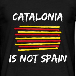 Catalonia Scratch T-Shirts - Men's T-Shirt