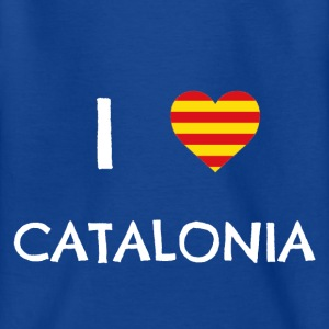 I Love Catalonia Shirts - Teenage T-shirt