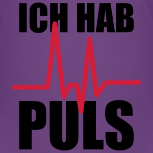 Ich hab Puls T-Shirts - Teenager Premium T-Shirt