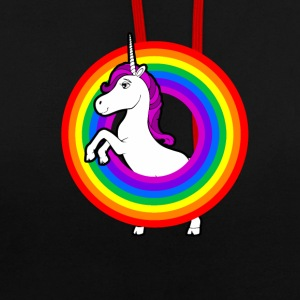Unicorn in the rainbow Hoodies & Sweatshirts - Contrast Colour Hoodie