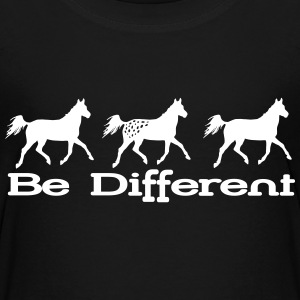 Be different - Appaloosa Shirts - Teenage Premium T-Shirt