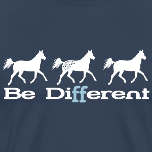 Be different - Appaloosa T-shirts - Premium-T-shirt herr