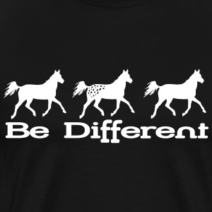 Be different - Appaloosa Tee shirts - T-shirt Premium Homme