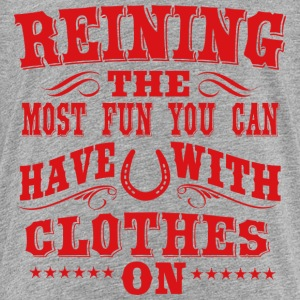 Reining - fun Shirts - Teenage Premium T-Shirt