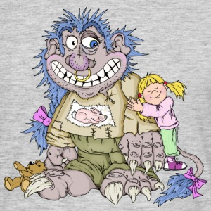 Monster, girl, love T-Shirts - Men's T-Shirt