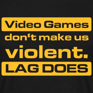 Video Game Lag T-Shirts - Männer T-Shirt