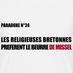 PARADOXE religieuse  Tee shirts - T-shirt Homme
