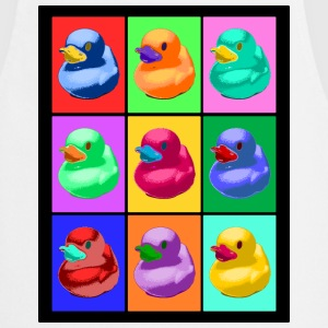 Pop Art Ente; Pop Art Duck Delantales - Delantal de cocina