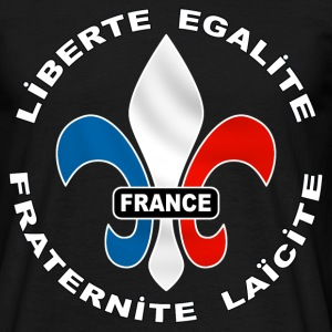 France logo tricolore - T-shirt Homme