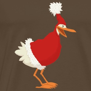 Noble brown christmas chicken T-Shirts - Men's Premium T-Shirt