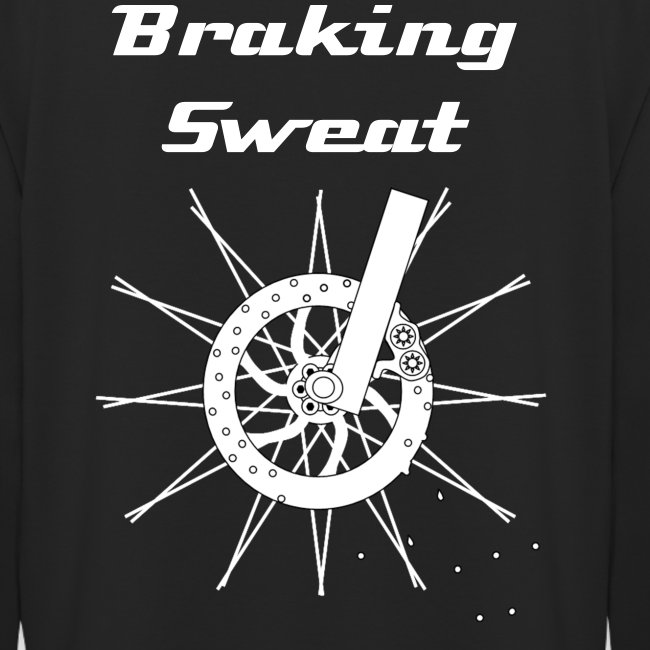"Bike Hoodie ""Braking Sweat"""