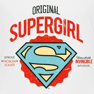 Supergirl Teenager T-Shirt Problem Solver - Teenager Premium T-shirt