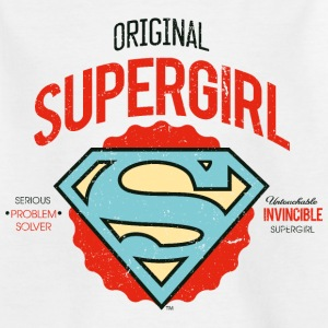 Supergirl Teenager T-Shirt Problem Solver - Teenager T-Shirt