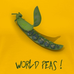 World Peas ! - Frauen Premium T-Shirt