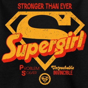 Supergirl Teenager T-Shirt Stronger Than Ever - Teenager-T-shirt