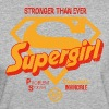Supergirl Frauen T-Shirt Stronger Than Ever - Frauen Bio-T-Shirt