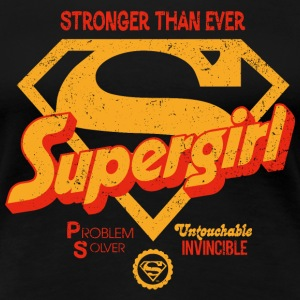 Supergirl Frauen T-Shirt Stronger Than Ever - Frauen Premium T-Shirt