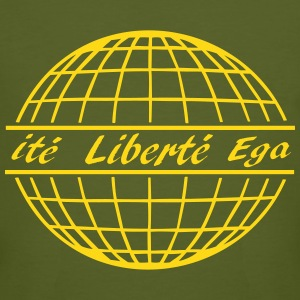 shirt liberté, free world - Männer Bio-T-Shirt