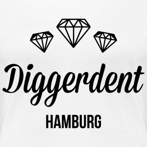 Diggerdent(c) Hamburg diamonds T-Shirts - Women's Premium T-Shirt
