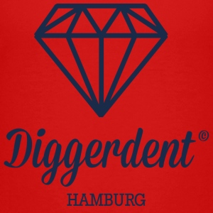Diggerdent Hamburg diamant Shirts - Teenager Premium T-shirt