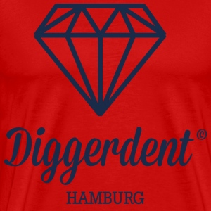 Diggerdent Hamburg diamond T-Shirts - Men's Premium T-Shirt