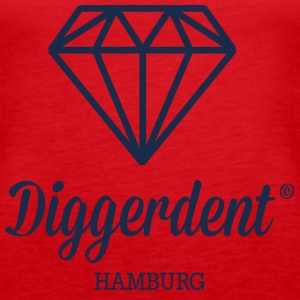 Diggerdent Hamburg diamond Tops - Women's Premium Tank Top