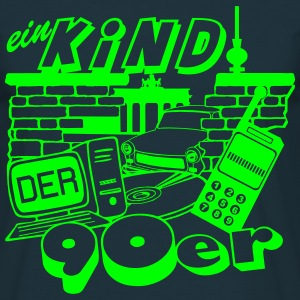Ein Kind der 90er / Party Fun 90er Party  - Männer T-Shirt