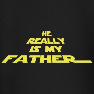 He really is my father - Baby Langarmshirt