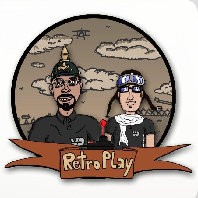 """Untersetzer """"RetroPlay Erster Weltkrieg"""""""