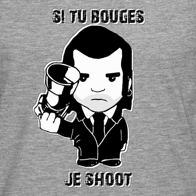 bouges, je shoot - sweat shirt homme 1