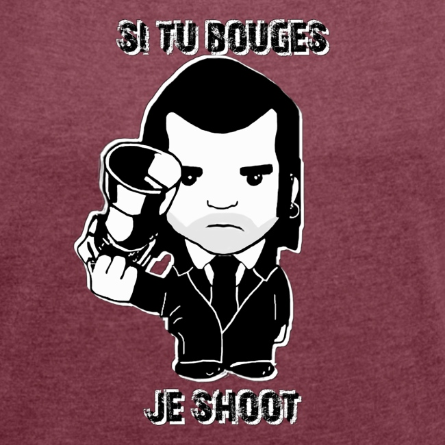 bouges, je shoot - tee shirt femme 4