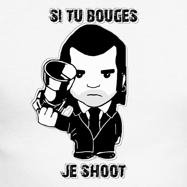 bouges, je shoot - sweat shirt homme 3