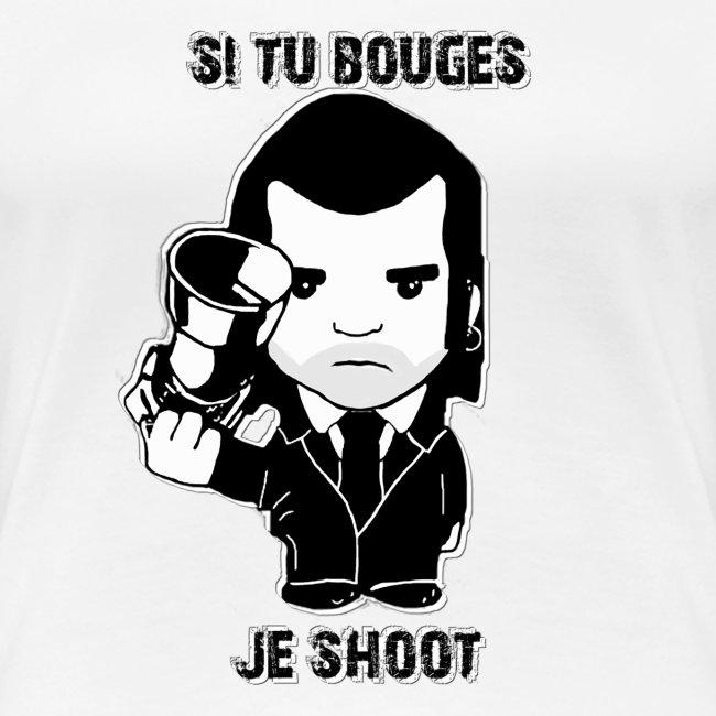 bouges, je shoot - tee shirt femme 3
